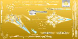 Nakai Geinocracy Or'Dainen Class Battleship by EmperorMyric