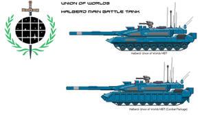 Halberd Union MBT