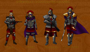 Interstellar Roman Infantry