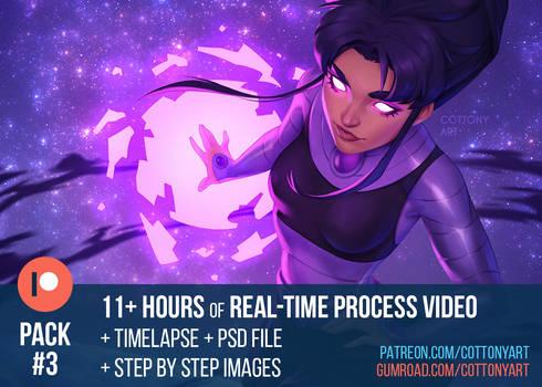 Patreon Pack #3 - May 2021 - Art Process