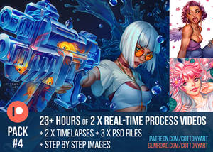Patreon Pack #4 - June 2021 - Art Process