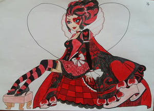 Lizzie Heart from Ever After High