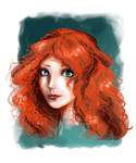 Merida Portrait