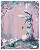 Glaceon by RedTallin