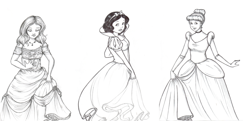 big poofy dresses by snowwhitekt on deviantart