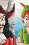 Peter Pan bookmark