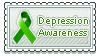 Depression Awareness Stamp by sammich