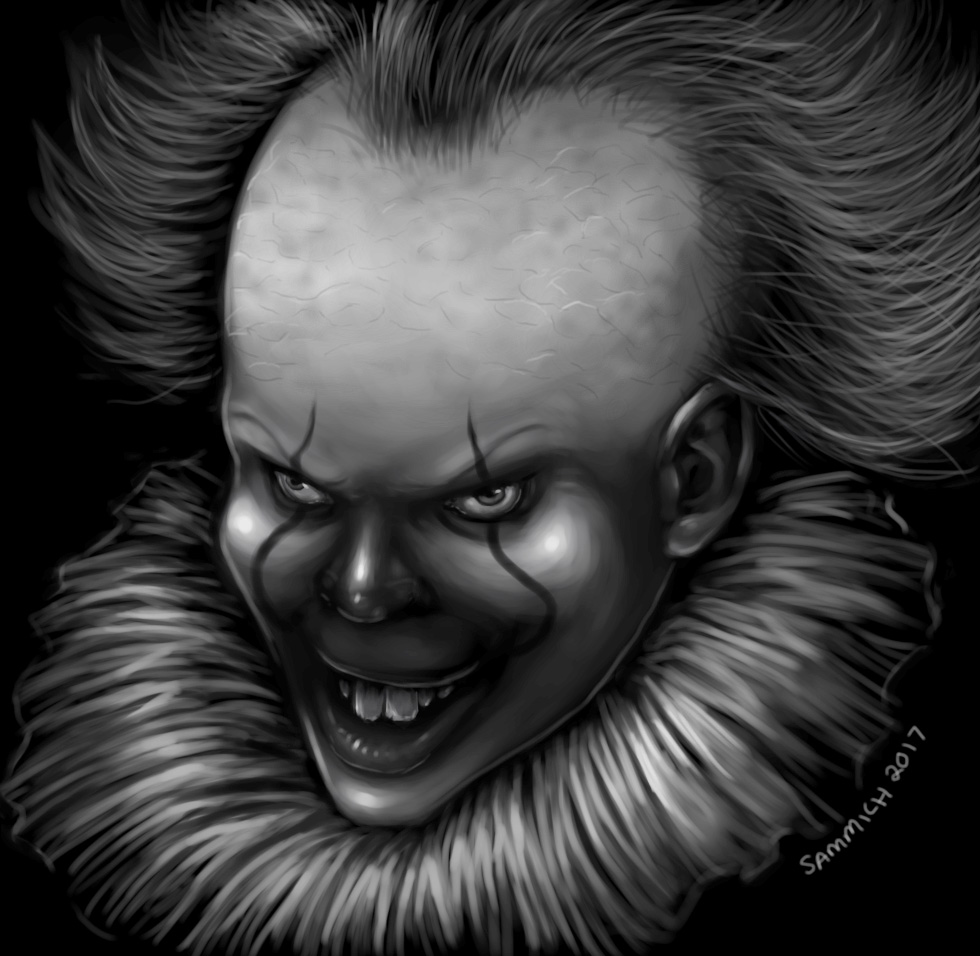 Pennywise the Dancing Clown by sammich