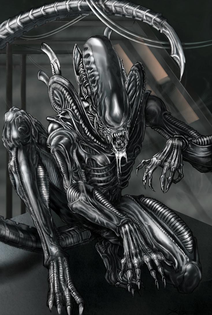 Imágenes de Alien Xenomorph_by_Inspirewood