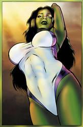 She-Hulk by SarahPerryman