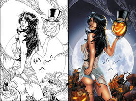 Halloween Suprise Side-by-Side by SarahPerryman