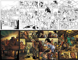 Sinbad: 4 Pages Side-by-Side by SarahPerryman