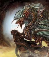 3-Headed Dragon by SarahPerryman