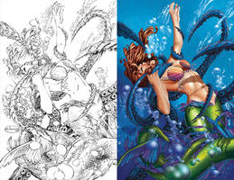 The Mermaid Side-by-Side by SarahPerryman
