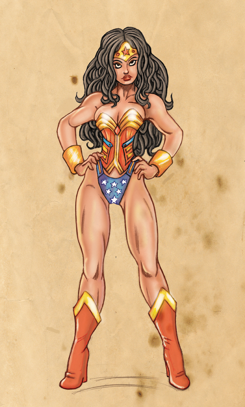 Wonder Woman with Attitude by SarahPerryman