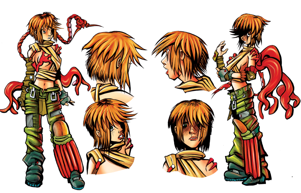 A Studio Akumakaze Character Sheet by SarahPerryman