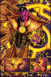 Sinestro - Parallax - Colors