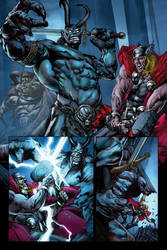 Rage of Thor pg 1- Colors