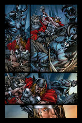 Rage of Thor pg 2 - Colors