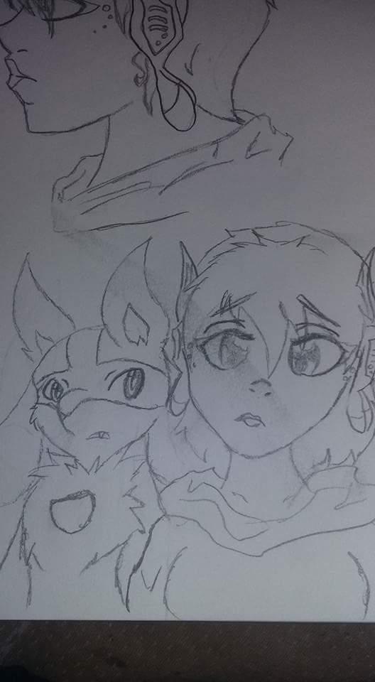 Really old poke sketch by StTally