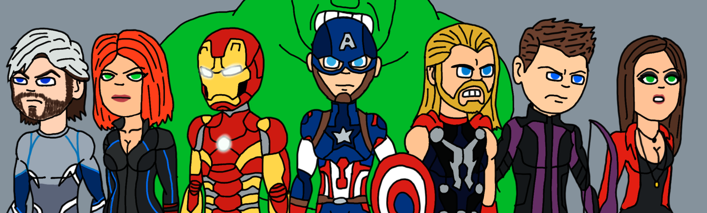 Avengers Age Of Ultron By Iloegbunam On Deviantart: Avengers Age Of Ultron By Takutanuva-teridax On DeviantArt