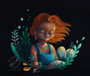 New beginning by JustineF-Illustrator