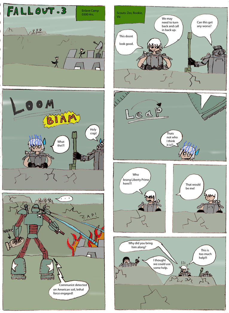 Fallout 3 Comic Issue 4 by Wars-Apocalypse01