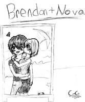 Nova and Brendon by CocoPankakes