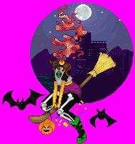 Halloween Ash by TrainerAnna
