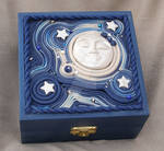 Moon and Starry Sky spirit box