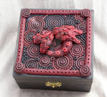 Garnet Dragon spirit box