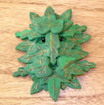 Greenman Medallion detail