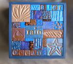 Water Spirit mosaic box