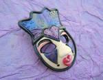 Harlequin Queen brooch
