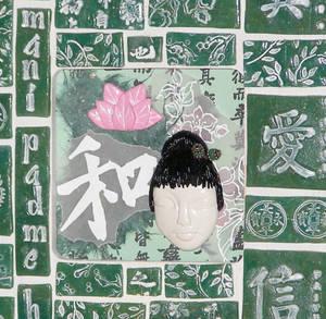 Kuan Yin Shrine detail