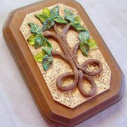 Celtic Tree of Life plaque