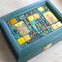 Tarot Mosaic box 1