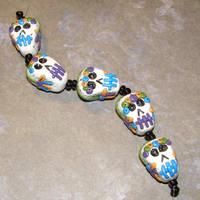 DotD Sugar Skull Beads