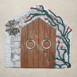 Spooky Castle Fairy Door