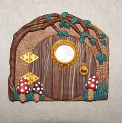 Miniature Hobbit Door