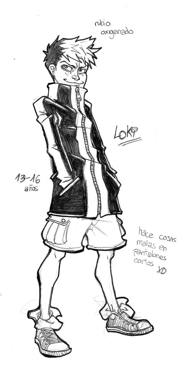 -Concept Sketch- Loki by CyrusZeal