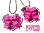 ribbons and hearts