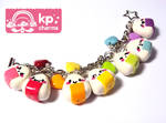 rainbow onigiri bracelet