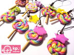straps lollipops