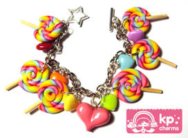lollipops bracelet 3 by KPcharms