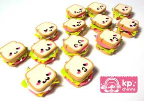 kawaii bread faces