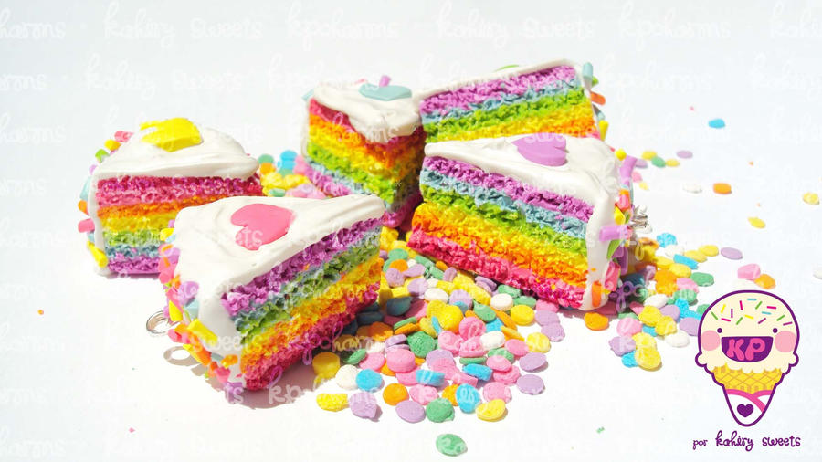 new rainbowcake 2012 by KPcharms