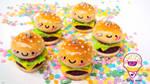 cute burger time