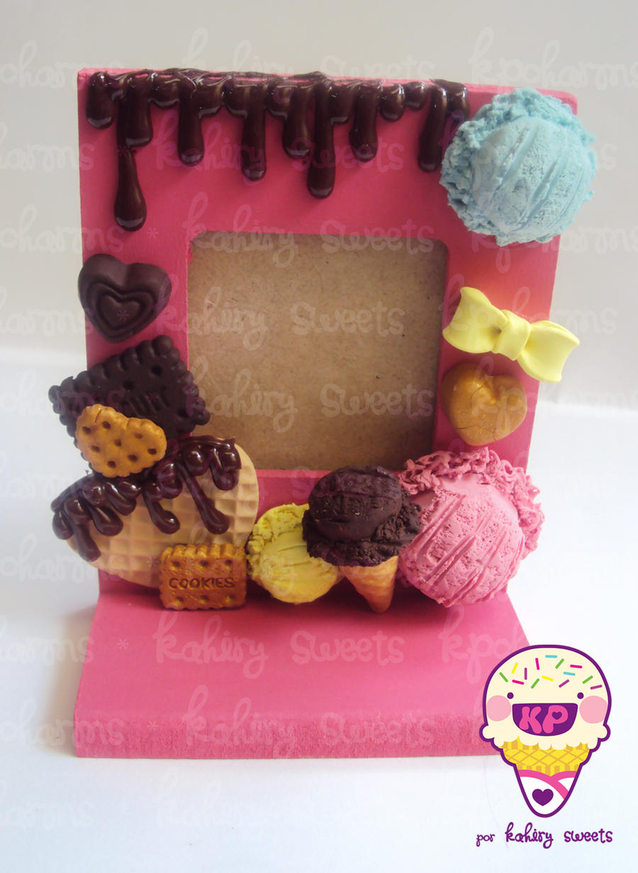 sweet deco frame 1/26 by KPcharms