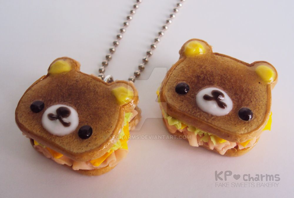 Rilakkuma sandwich by KPcharms